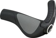 Ergon GP3-S Grips: Small, Black/Gray
