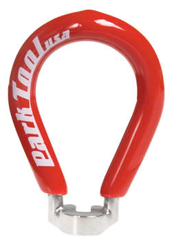 Park Tool SW-2 Spoke Wrench 3.45mm: Red