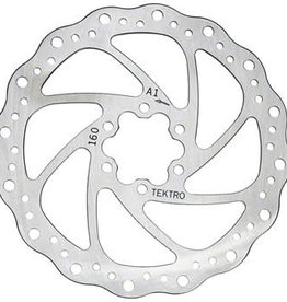 Tektro 160mm Wavy Type Rotor w/Bolts