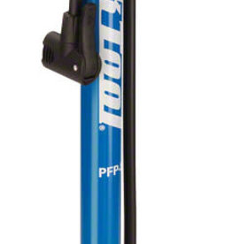 Park Tool PFP-8 Home Mechanic Floor Pump, Blue/Black