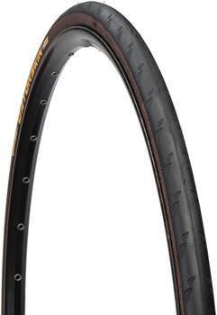 Continental Gatorskin Tire - 700 x 23, Clincher, Wire, Black, 180tpi