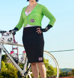 BikeIsta BIKEISTA Zipped Pencil Skirt