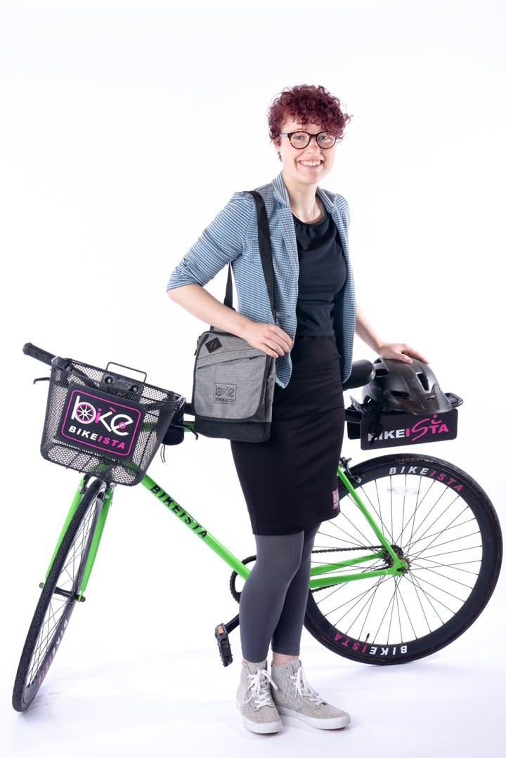 BikeIsta BIKEISTA Office Jacket with Ruched Sleeve
