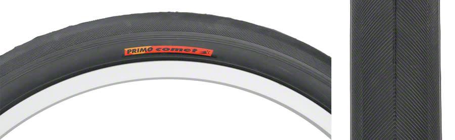 Primo Comet Recumbent Tire - 20 x 1.5, Clincher, Wire, Black