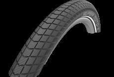 Schwalbe Schwalbe Super Moto-X Tire, 62-406, 20x2.40, Black-Reflex, Wire