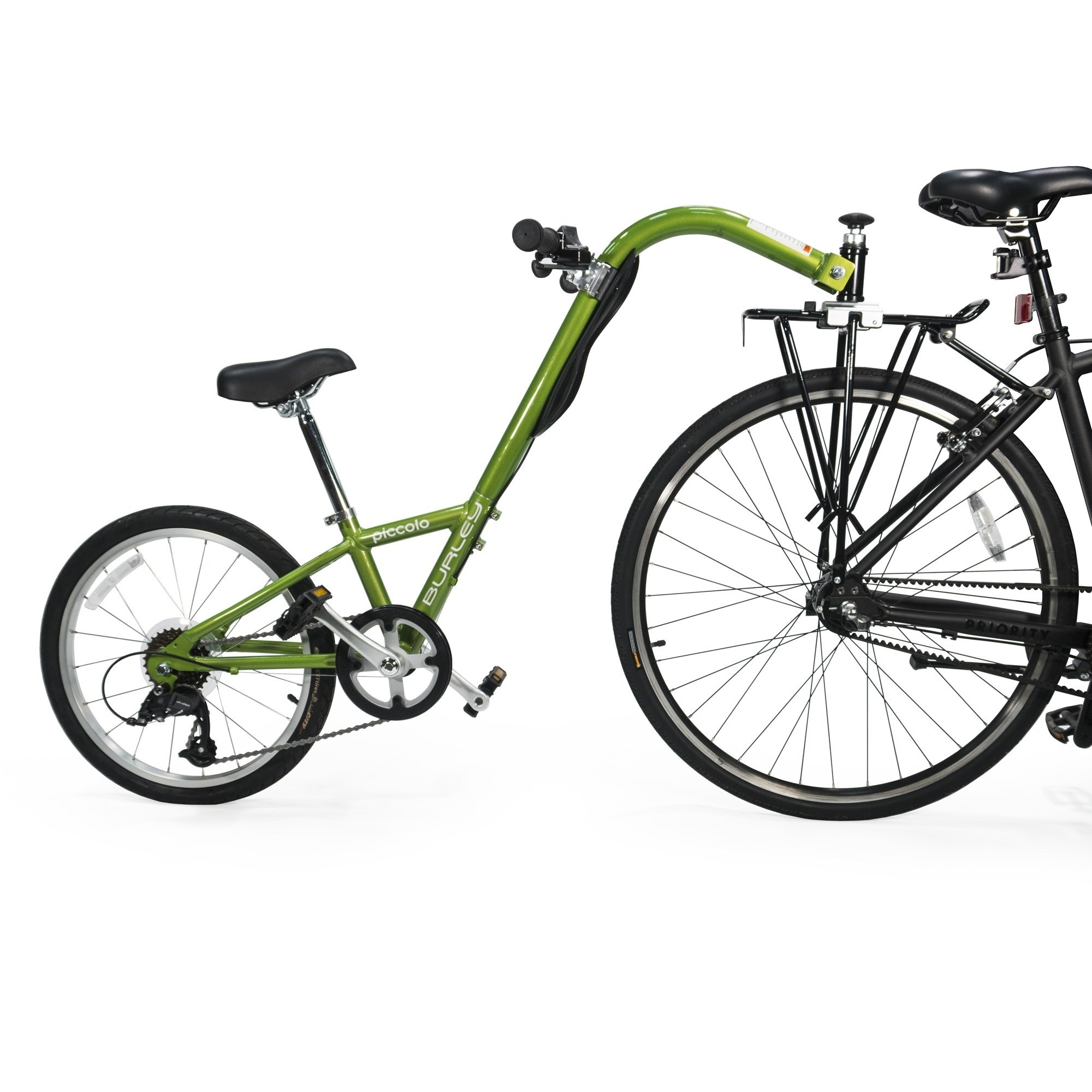 Burley Burley Piccolo 7-Speed Trailercycle: Green
