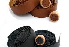 Cardiff Cardiff Premium Leather Bar Tape, Black