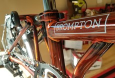 Brompton Brompton S6L, Flame Lacquer