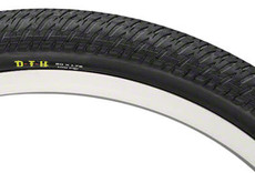 "Maxxis DTH Tire: 20 x 1-1/8"", Wire, 120tpi, Dual Compound, SilkWorm, Black"