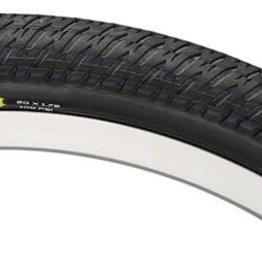 "Maxxis DTH Tire: 20 x 1-1/8"", Wire, 120tpi, Dual Compound, SilkWorm, Black"