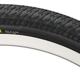 "Maxxis DTH Tire: 20 x 1-3/8"", Wire, 120tpi, Dual Compound, SilkWorm, Black"