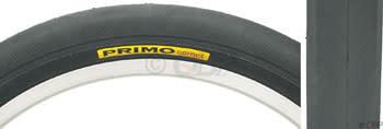 """Primo Comet Recumbent Tire: 20"""" x 1-3/8"""" Steel Bead Black"""