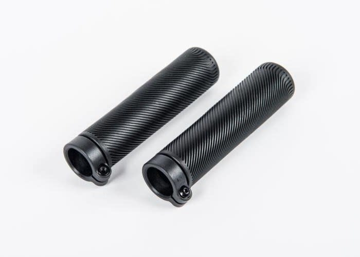Brompton Grips 130mm lock on for S Type and low rise M and H Type Black