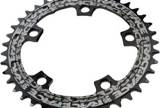 RaceFace Narrow Wide Chainring: 110mm BCD, 38t, Black