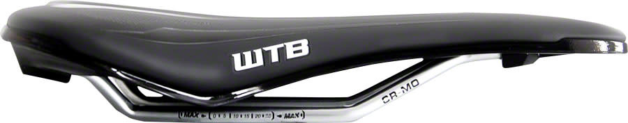 WTB WTB High Tail Pro Saddle - Chromoly, Black/White
