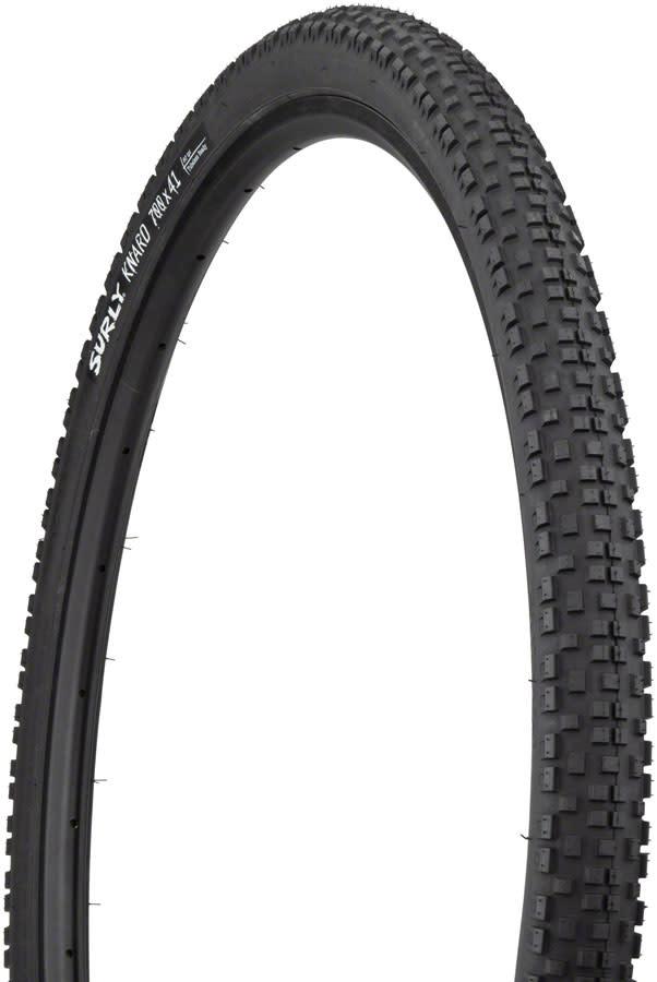 Surly Knard Tire - 700 x 41, Tubeless, Folding, Black, 60tpi