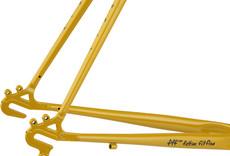 Surly Cross Check Frameset - 700c, Steel, Stoned Ground Mustard, 52cm