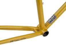 Surly Surly Cross Check Frameset - 700c, Steel, Stoned Ground Mustard, 52cm