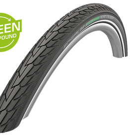Schwalbe Road Cruiser HS 484, Active Line, Wire Bead, 47-305/16x1.75, K-Guard, Green Compound, Black, Reflex Reflective Strip