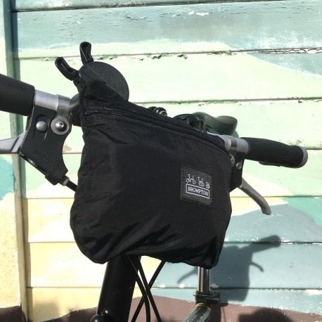 Brompton Bike cover and saddle bag Black