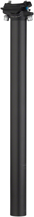 Salsa Guide Carbon Seatpost, 27.2 x 400mm, 0mm Offset, Black