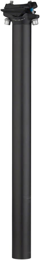 Salsa Salsa Guide Carbon Seatpost, 27.2 x 400mm, 0mm Offset, Black