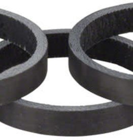 Whisky Parts Co. Whisky 5mm UD Carbon Spacer Matte Black 5-pack