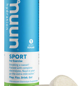 Nuun Nuun Sport Hydration Tablets: Lemon Lime, Single tube
