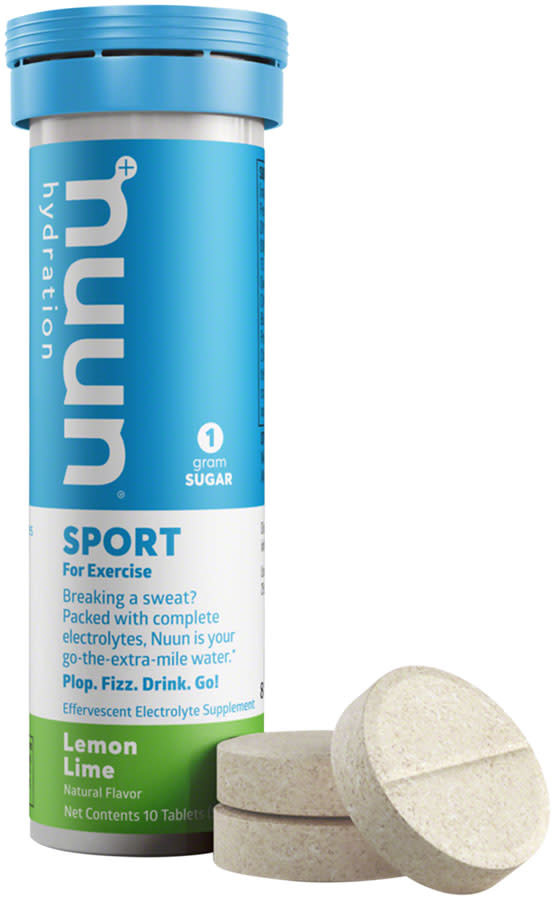 Nuun Sport Hydration Tablets: Lemon Lime, Single tube