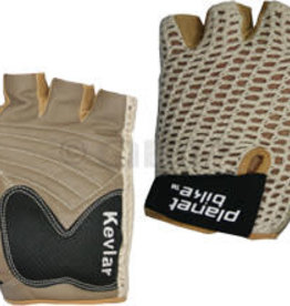 Planet Bike Taurus Gloves - Tan, Short Finger