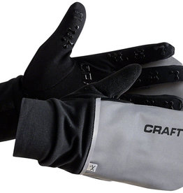 Craft Hybrid Weather Gloves - Black, Full Finger