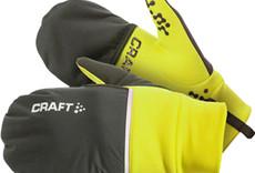 Craft Hybrid Weather Gloves - Black, Full Finger