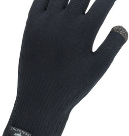SealSkinz Waterproof All Weather Ultra Grip Gloves - Black, Full Finger, Unisex