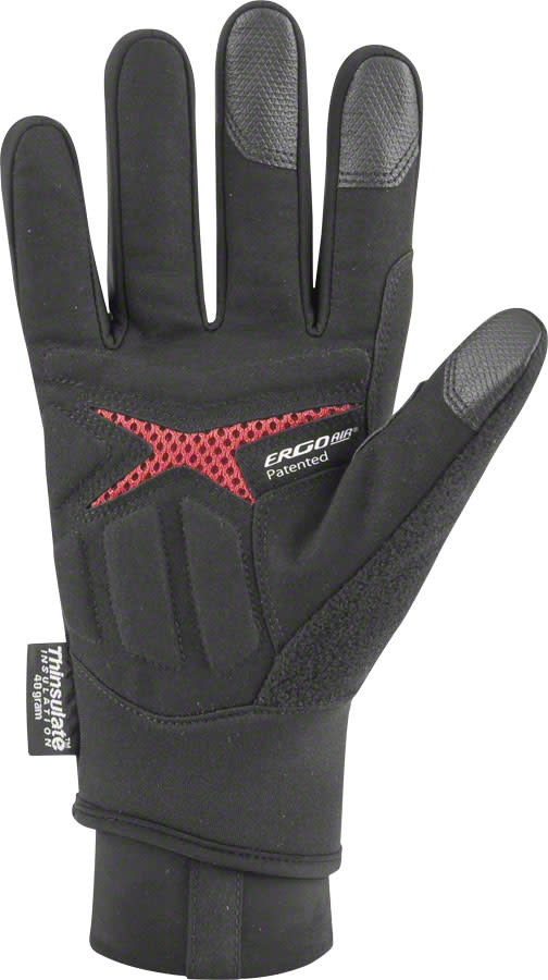 Garneau Super Prestige 2 Gloves - Black, Full Finger, Unisex