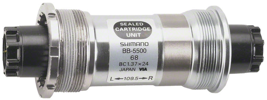 Shimano 105 BB-5500 Octalink V1 Spline English Bottom Bracket