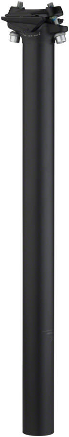 Salsa Guide Seatpost, 27.2 x 400mm, 0mm Offset, Black