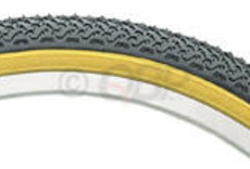 Kenda Kenda Street K55 Tire - 20 x 1.75, Clincher, Wire, Black/Tan, 22tpi
