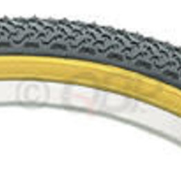 Kenda Kenda Street K55 Tire - 20 x 1.75, Clincher, Wire, Black/Tan, 22tpi