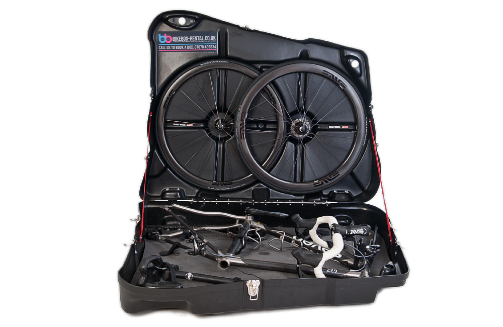 Service: Pack bike into box or travel case