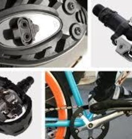 Service: Clipless Pedal installation & adjust
