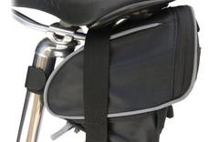 Banjo Brothers Seat Bag: MD, Black