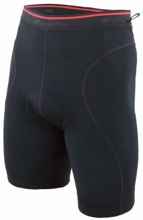 Bellwether Men's Mesh Undershort with Pad XL, Black
