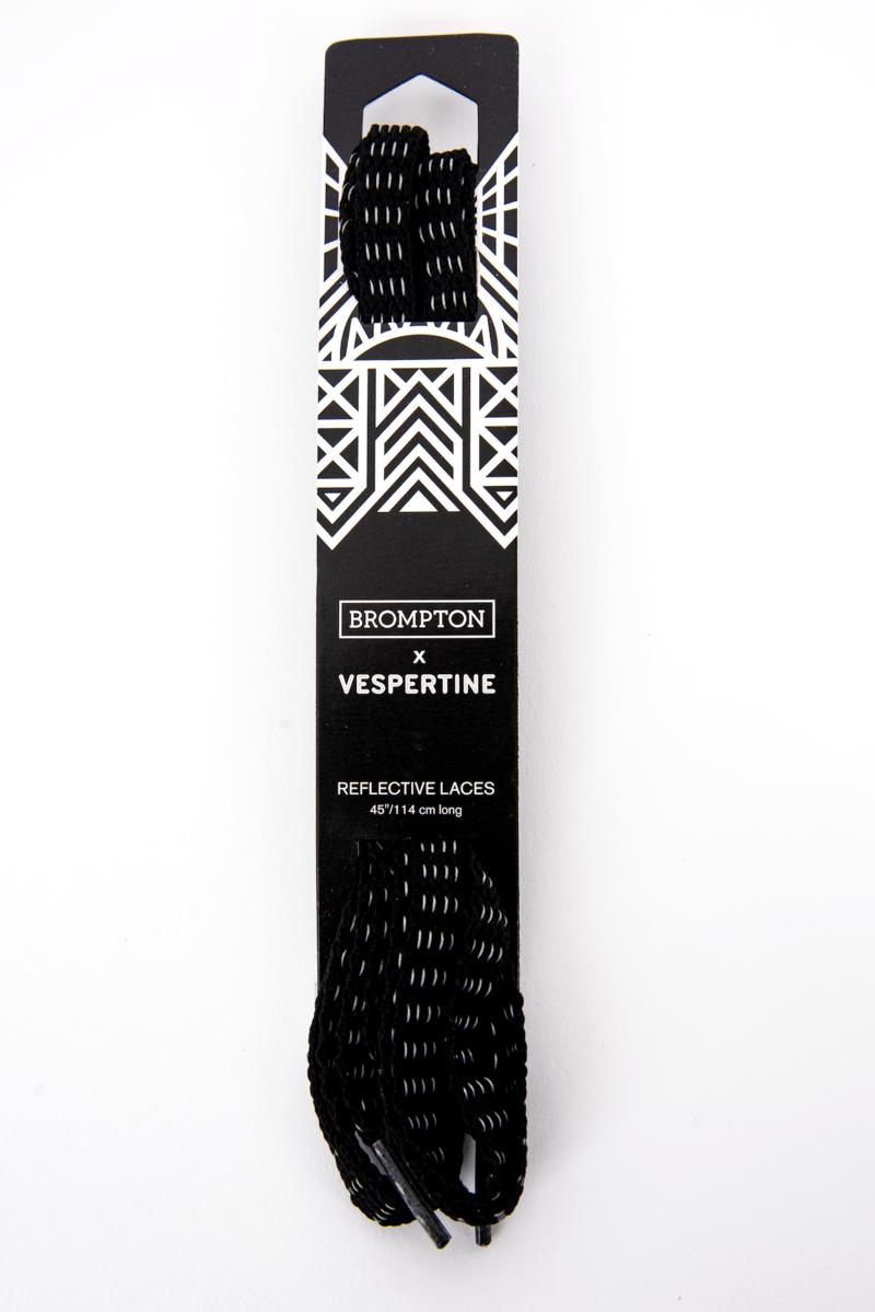 "Brompton Brompton x Vespertine Reflective Shoe Laces 45""/114cm long"