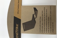 TerraTrike TerraTrike Seat Wedge Cushion – Extended Width