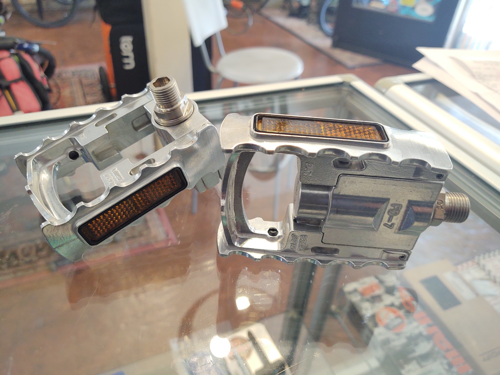 Pedal, MKS, FD-7, folding,platform