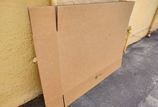 "Bicycle Shipping Box, 54""x8.5""x28.5"" for 700C road bike"