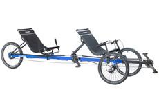 TerraTrike TerraTrike Rover Recumbent Trike Tandem Enviolo CVT with IPS