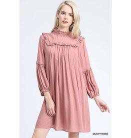 Jodifl CAROLINA Mock Neck Dress