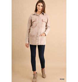 UMGEE LIZ Button Up Jacket with Pockets