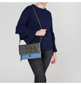 coco+carmen ANYA Leather Crossbody/Clutch